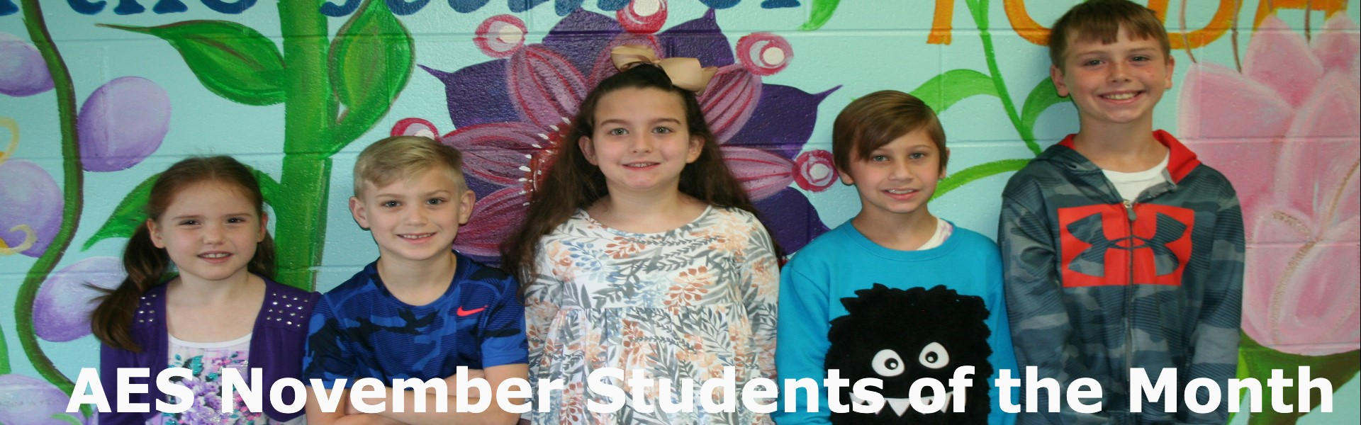 Nov. Students of the Month