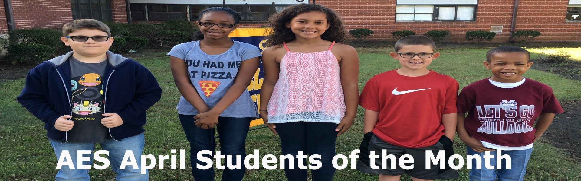 AES April Students of the Month