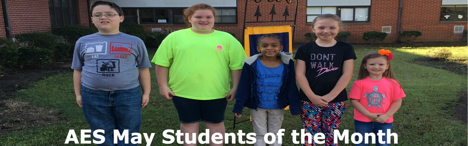 AES May Students of the Month